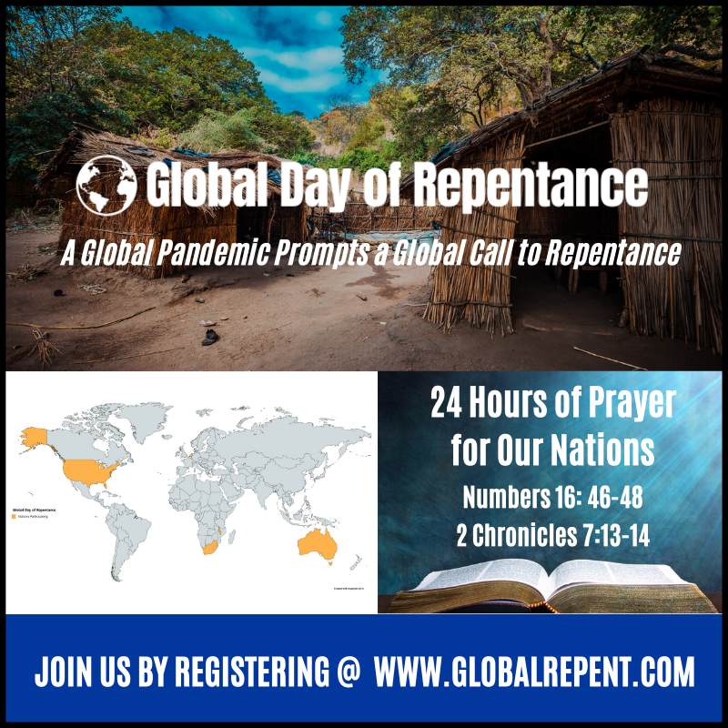 Global Day of Repentance Website
